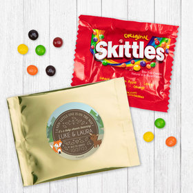 Personalized Baby Shower Forest Friends Skittles