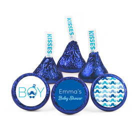Personalized Baby Shower Mustache Hershey's Kisses (50 pack)