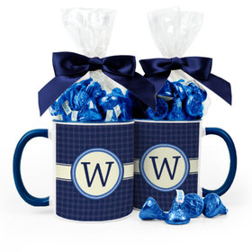 Personalized Baby Shower Initial 11oz Mug with Hershey's Kisses