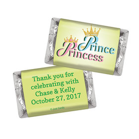 Gender Reveal Prince or Princess Personalized Hershey's Miniatures