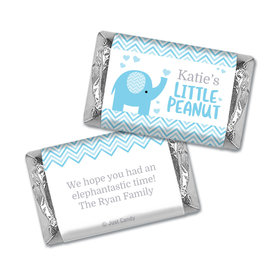 Baby Shower Personalized Hershey's Miniatures Wrappers Little Peanut