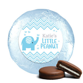 Personalized Little Peanut Baby Shower Milk Chocolate Covered Oreos (24 Pack)