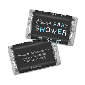 Baby Shower Personalized Hershey's Miniatures Wrappers Tiny Joy