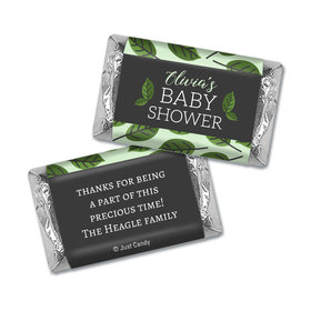 Baby Shower Personalized Hershey's Miniatures Wrappers Little Leaves of Love