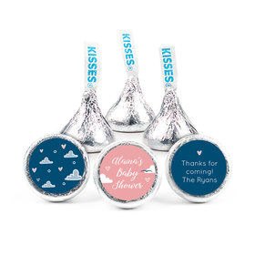 Personalized Baby Shower Cuddly Clouds Hershey's Kisses (50 pack)
