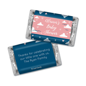 Baby Shower Personalized Hershey's Miniatures Wrappers Cuddly Clouds
