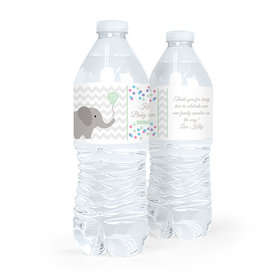 Personalized Baby Shower Ellariffic Water Bottle Sticker Labels (5 Labels)