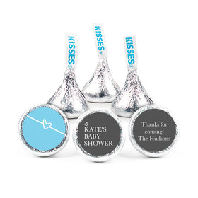 """Personalized Baby Shower Greatest Gift 3/4"""" Stickers (108 Stickers)"""