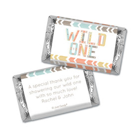 Baby Shower Personalized Hershey's Miniatures Wrappers Wild One