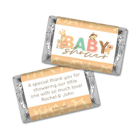 Baby Shower Personalized Hershey's Miniatures Safari Snuggles
