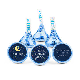 Personalized Baby Shower Little Star Hershey's Kisses (50 pack)