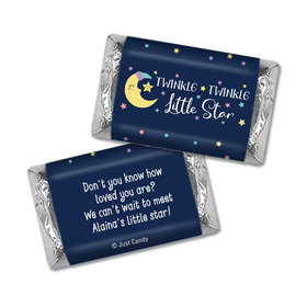 Baby Shower Personalized Hershey's Miniatures Wrappers Little Star