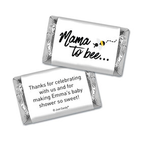 Baby Shower Personalized Hershey's Miniatures Mama to bee