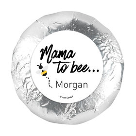 "Personalized Mama to Bee Baby Shower 1.25"" Stickers (48 Stickers)"