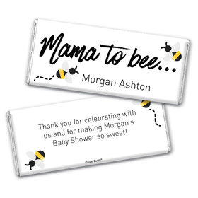 Baby Shower Personalized Chocolate Bar Mama to Bee