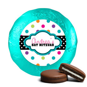 Bat Mitzvah Chocolate Covered Oreos Polka Dot Candy Shoppe (24 Pack)