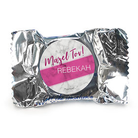 Personalized Bat Mitzvah Marble York Peppermint Patties