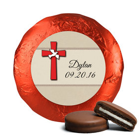 Confirmation Chocolate Covered Oreos Red Cross and Dove (24 Pack)