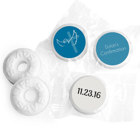 Confirmation Personalized Life Savers Mints Cross & Dove