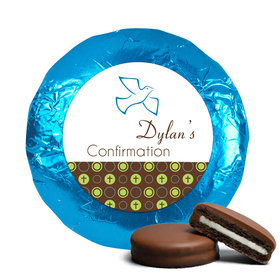 Confirmation Chocolate Covered Oreos Doves & Circle Crosses (24 Pack)