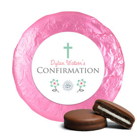 Confirmation Chocolate Covered Oreos Blooming Flowers (24 Pack)