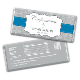 Personalized Confirmation Hershey's Chocolate Bar & Wrapper