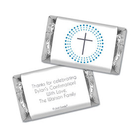 Confirmation Personalized Hershey's Miniatures Wrappers
