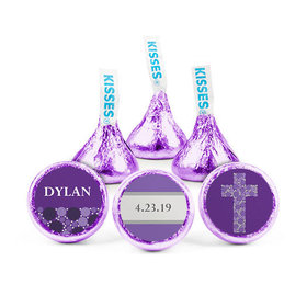 Personalized Girl Confirmation Stepping Stones Hershey's Kisses (50 pack)