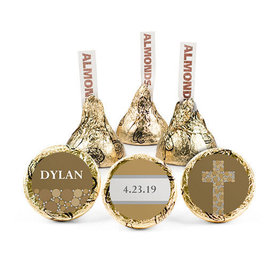 Personalized Boy Confirmation Stepping Stones Hershey's Kisses (50 pack)