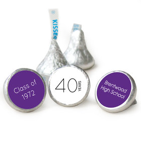 Class Reunion - Reunite Stickers - Kisses Candy Assembled Kisses (50 Pack)