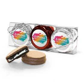 Personalized Add Your Artwork 3PK Chocolate Covered Oreo Cookies