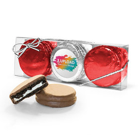 Personalized Add Your Logo 3PK Chocolate Covered Oreo Cookies