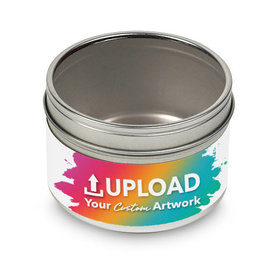 Add Your Artwork Small Tin - Label Only
