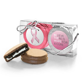 Breast Cancer Awareness Be the Hope Chocolate Covered Oreos 2pk