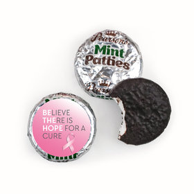 Personalized Breast Cancer Awareness Be the Hope Pearson's Mint Patties