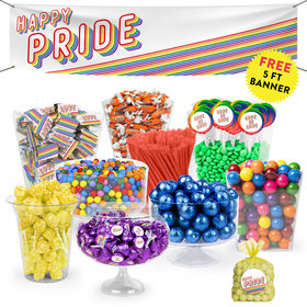Happy Pride Month Deluxe Candy Buffet