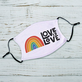 Adult Face Mask - Love is Love