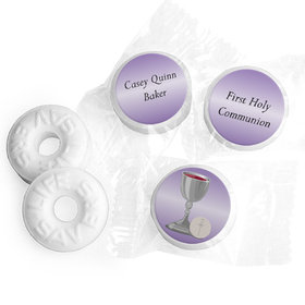 Communion Personalized Life Savers Mints Chalice