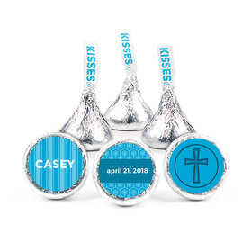 "Communion 3/4"" Sticker Framed Cross (108 Stickers)"