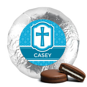 Communion Chocolate Covered Oreos Framed Cross (24 Pack)