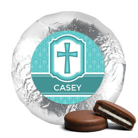 Communion Chocolate Covered Oreos Framed Cross