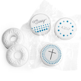 Communion Personalized Life Savers Mints Circled Cross