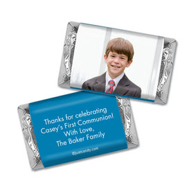 Communion Personalized Hershey's Miniatures Wrappers Full Photo