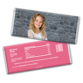 Communion Personalized Chocolate Bar Full Photo