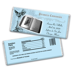 Communion Personalized Chocolate Bar Wrappers Palabra de Dios