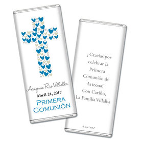 Personalized Communion Chocolate Bar & Wrapper