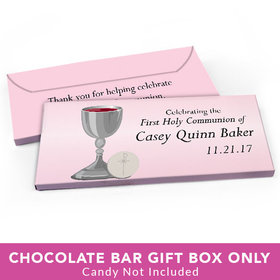 Deluxe Personalized First Communion Classic Candy Bar Cover