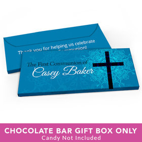 Deluxe Personalized First Communion Shining Day Candy Bar Cover