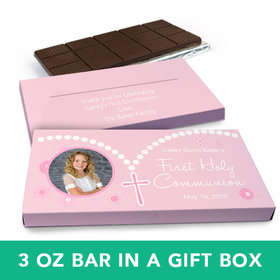 Deluxe Personalized Girl I Did It! Chocolate Bar in Gift Box (3oz Bar)