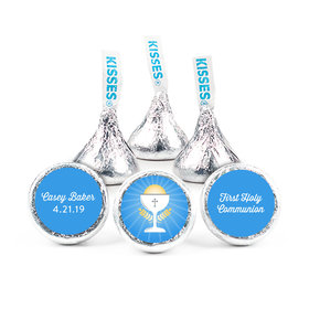 "First Communion Chalice 3/4"" Sticker (108 Stickers)"